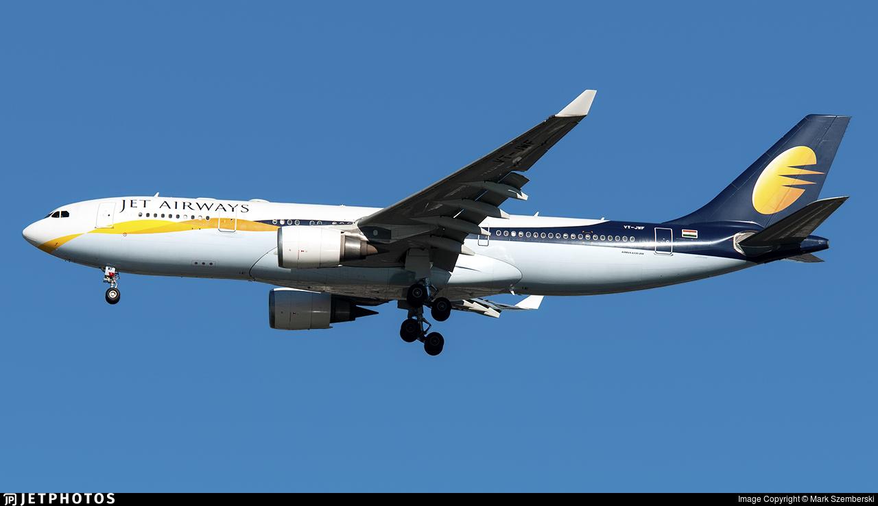 VT-JWF - Airbus A330-202 - Jet Airways