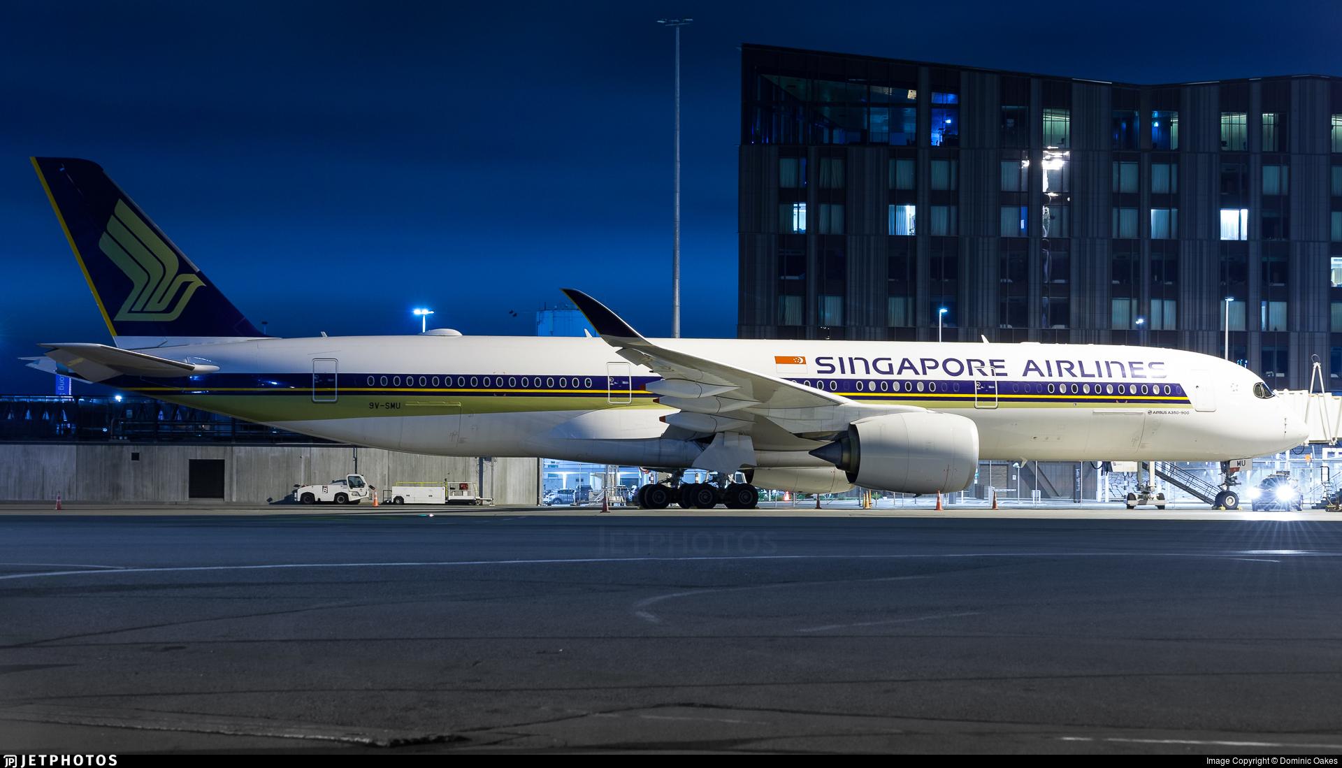9V-SMU - Airbus A350-941 - Singapore Airlines