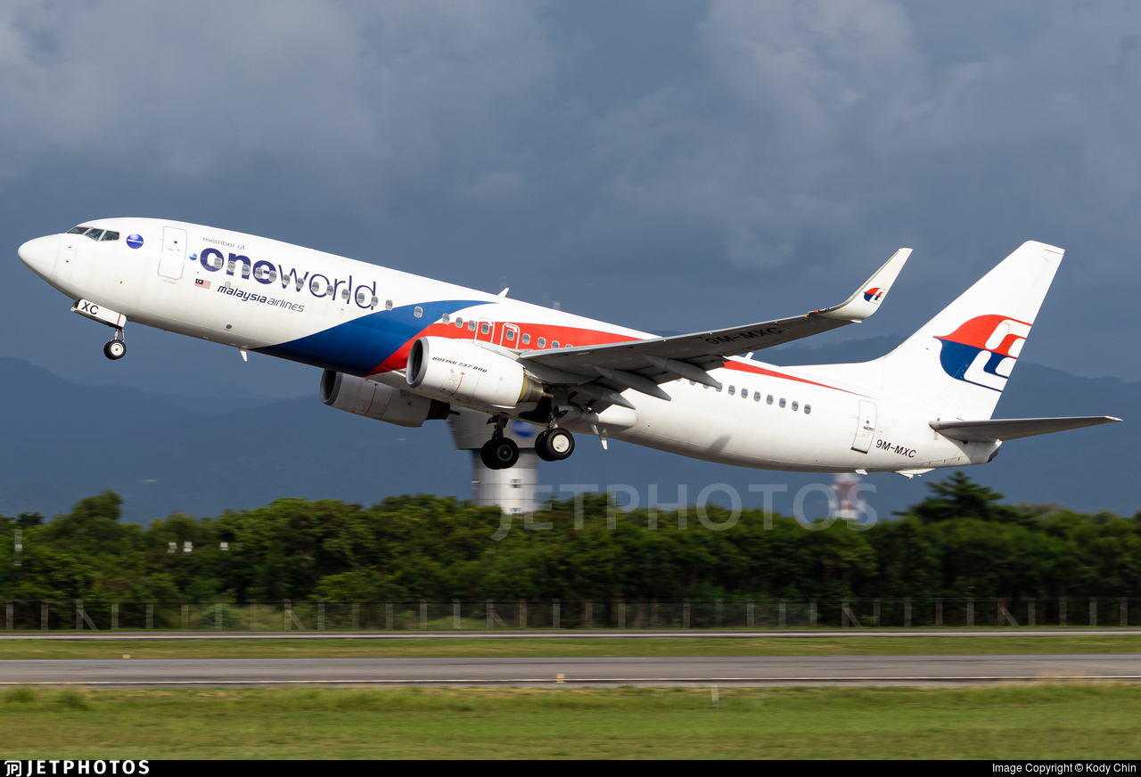 9M-MXC - Boeing 737-8H6 - Malaysia Airlines