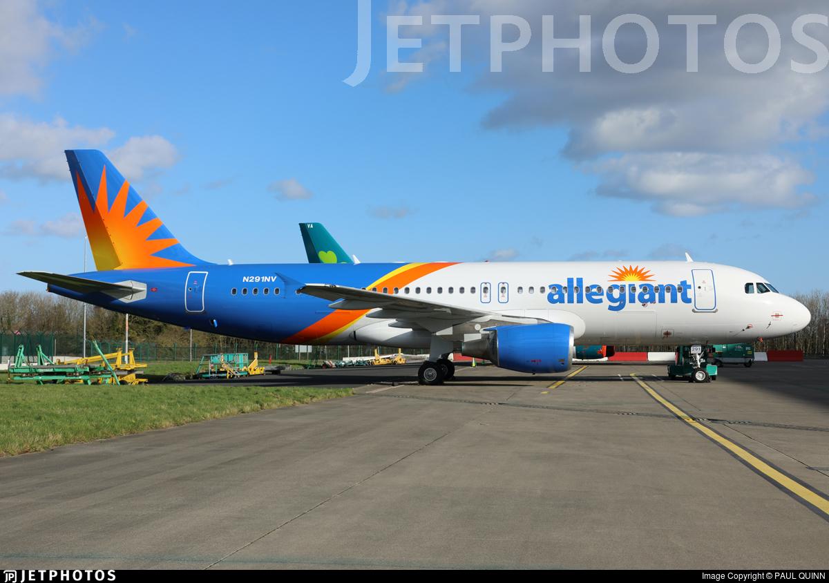 N291NV - Airbus A320-214 - Allegiant Air