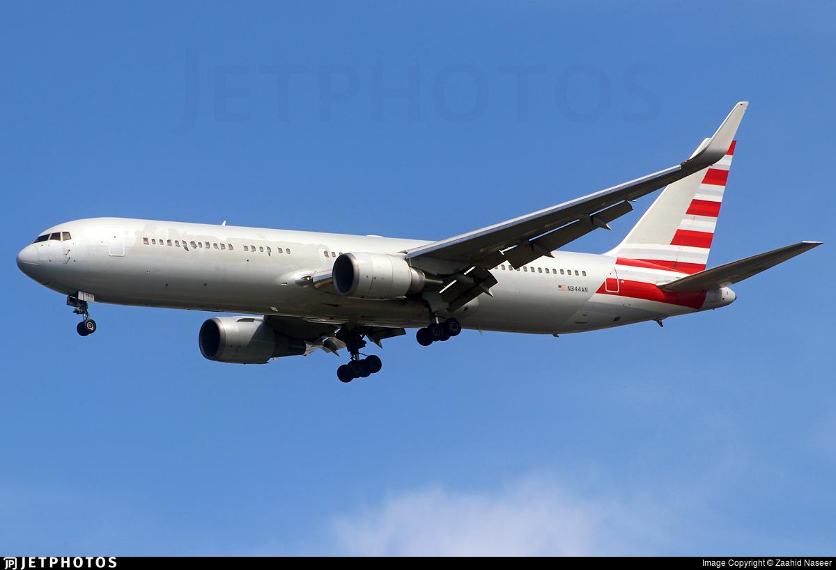 N344AN - Boeing 767-323(ER) - Untitled