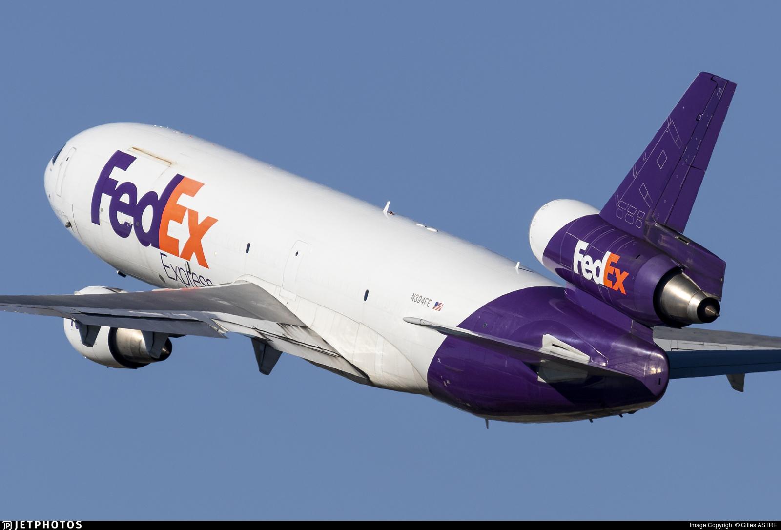 N394FE - McDonnell Douglas MD-10-10(F) - FedEx