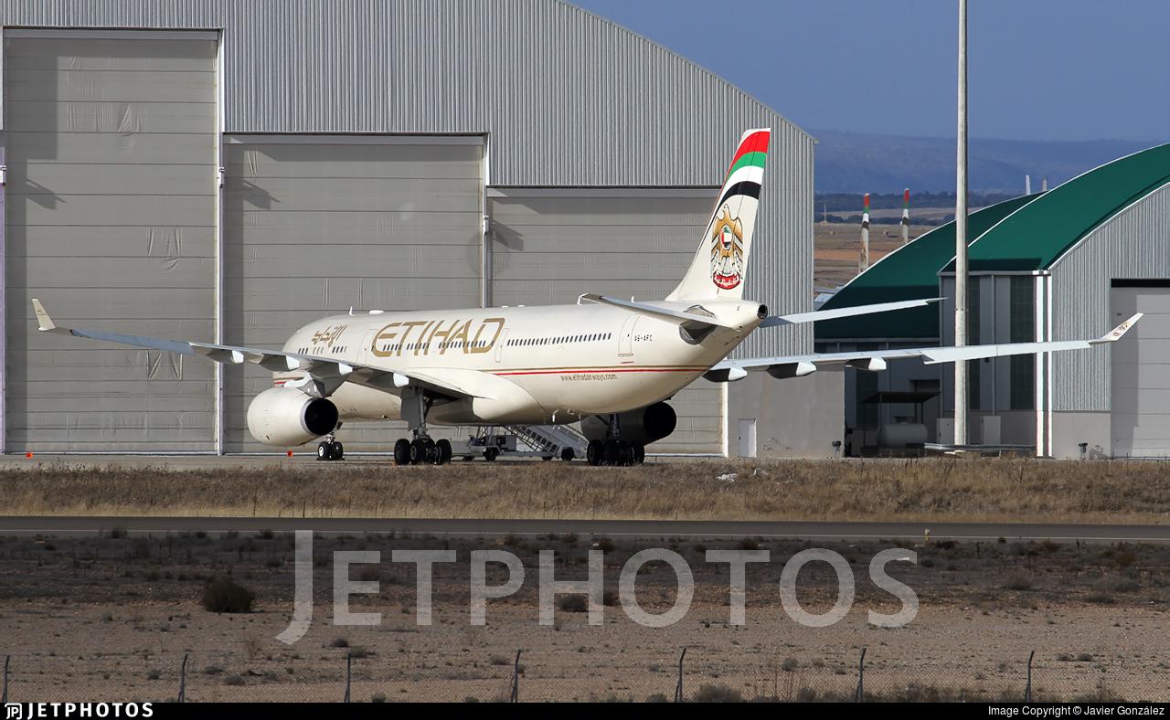 A6-AFC - Airbus A330-343 - Etihad Airways