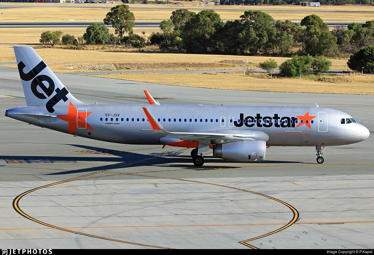 9V-JSV - Airbus A320-232 - Jetstar Asia Airways
