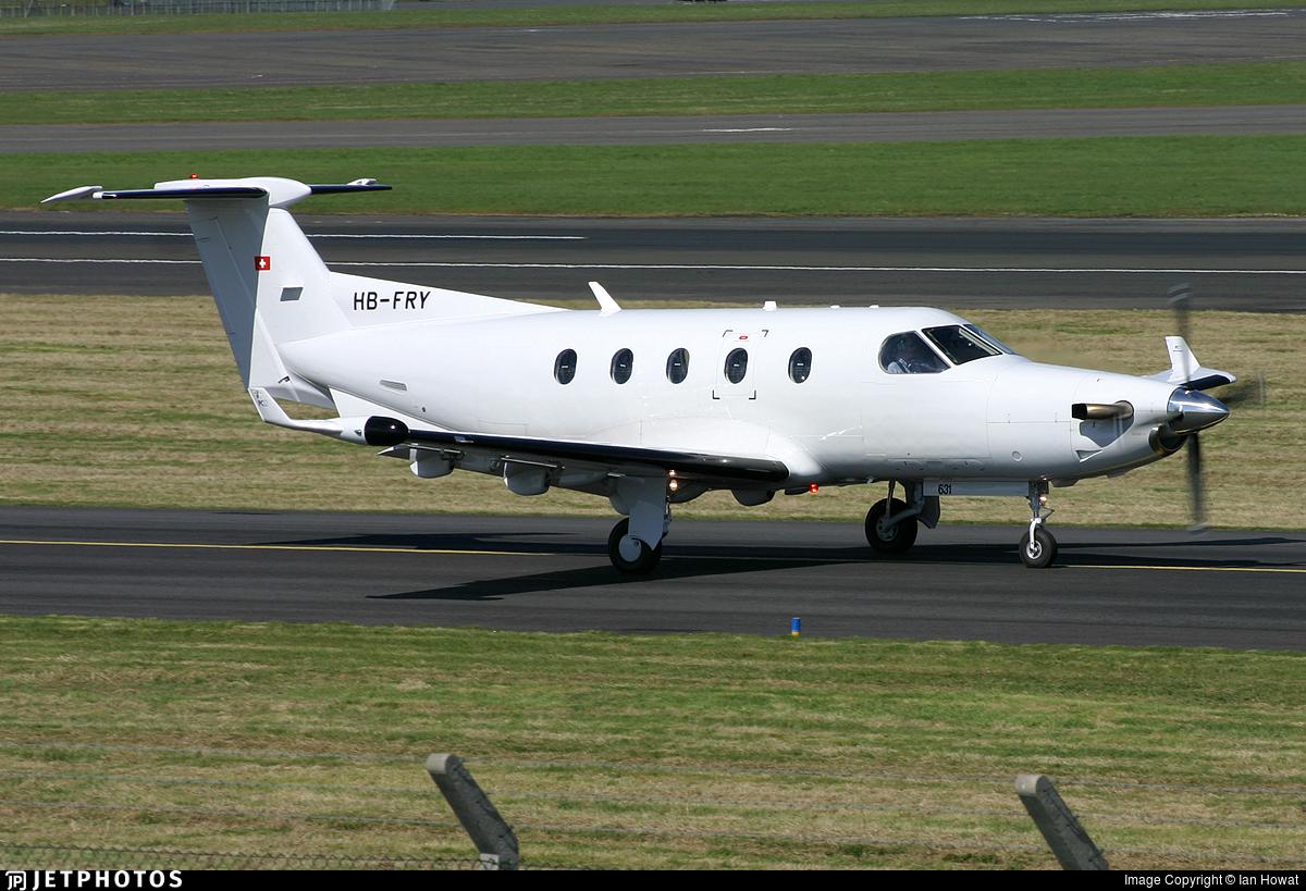 HB-FRY - Pilatus PC-12/45 - Pilatus Aircraft