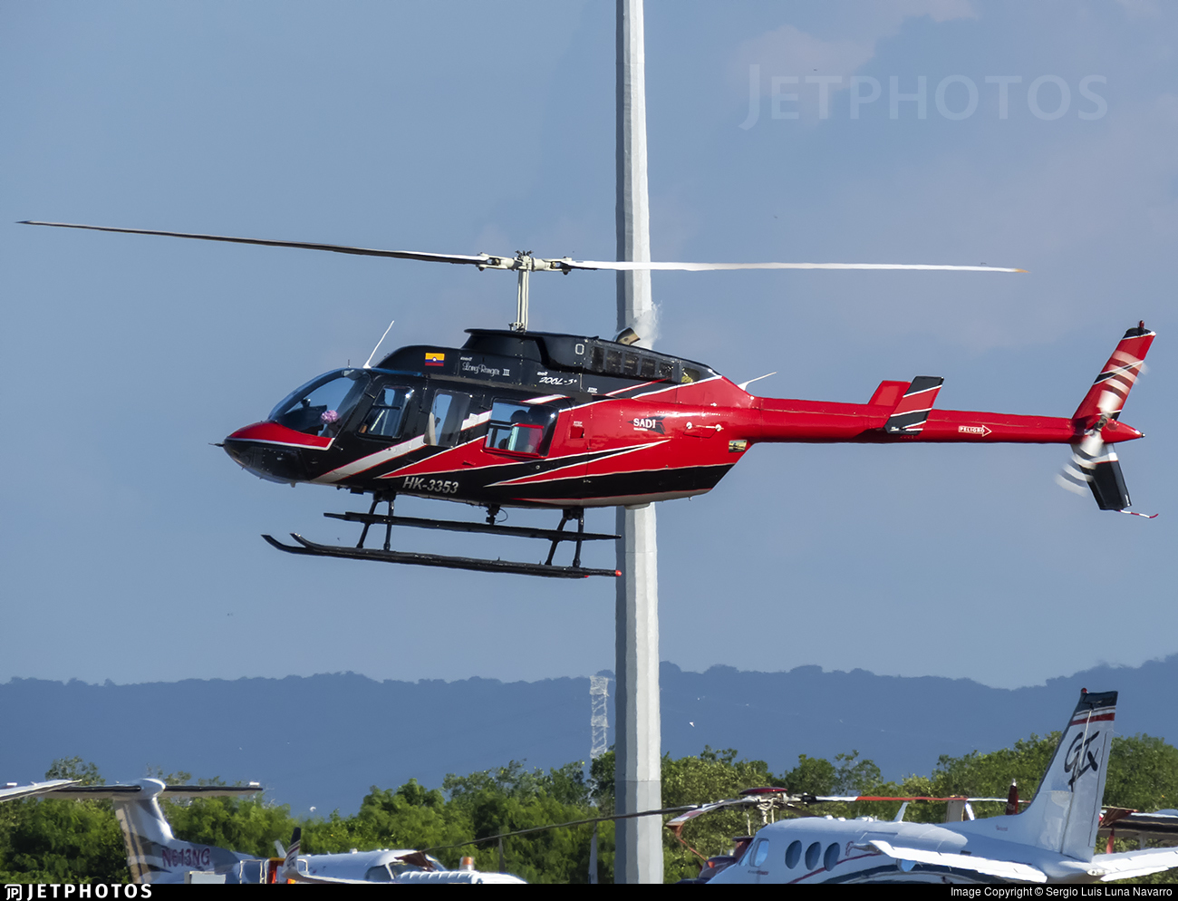 HK-3353 - Bell 206L-3 LongRanger III - Private