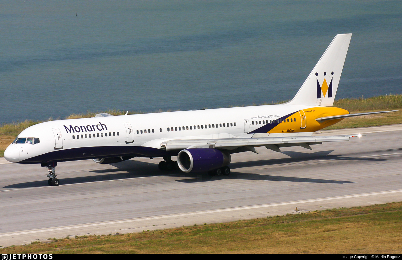 G-MONC - Boeing 757-2T7 - Monarch Airlines