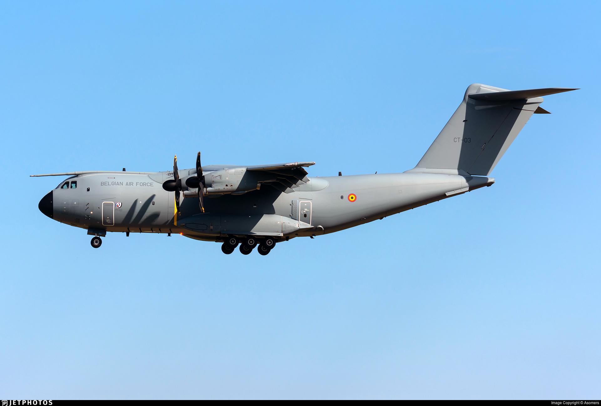CT-03 - Airbus A400M - Belgium - Air Force