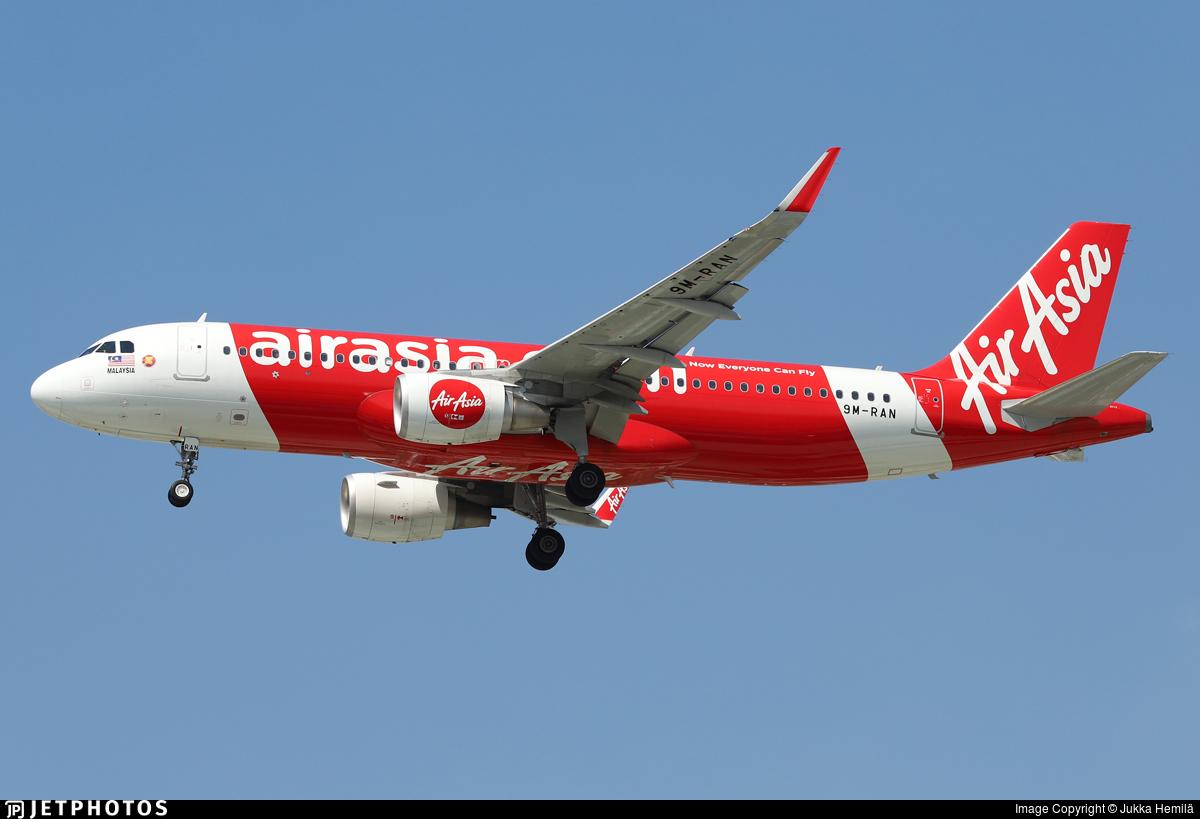 9M-RAN - Airbus A320-216 - AirAsia