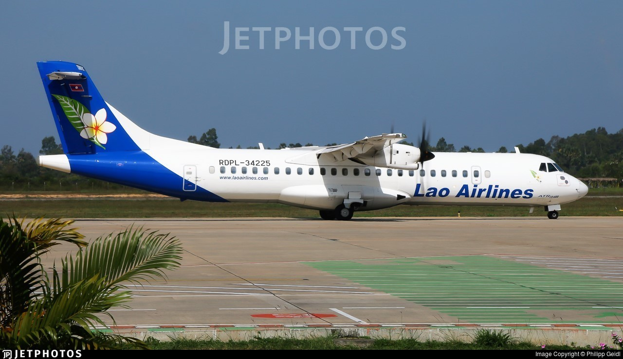 RDPL-34225 - ATR 72-212A(600) - Lao Airlines