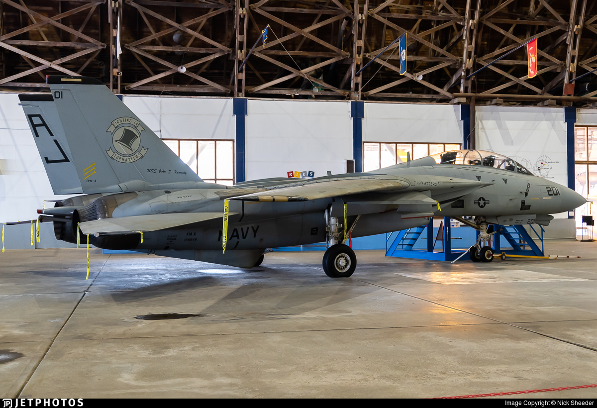 159848 - Grumman F-14A Tomcat - United States - US Navy (USN)