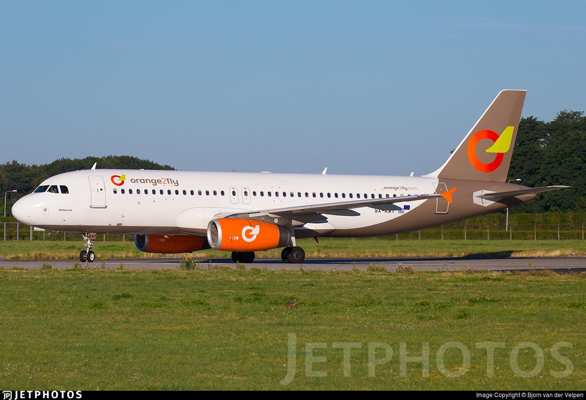 SX-KAT | Airbus A320-232 | Orange2Fly | Bjorn van der ...