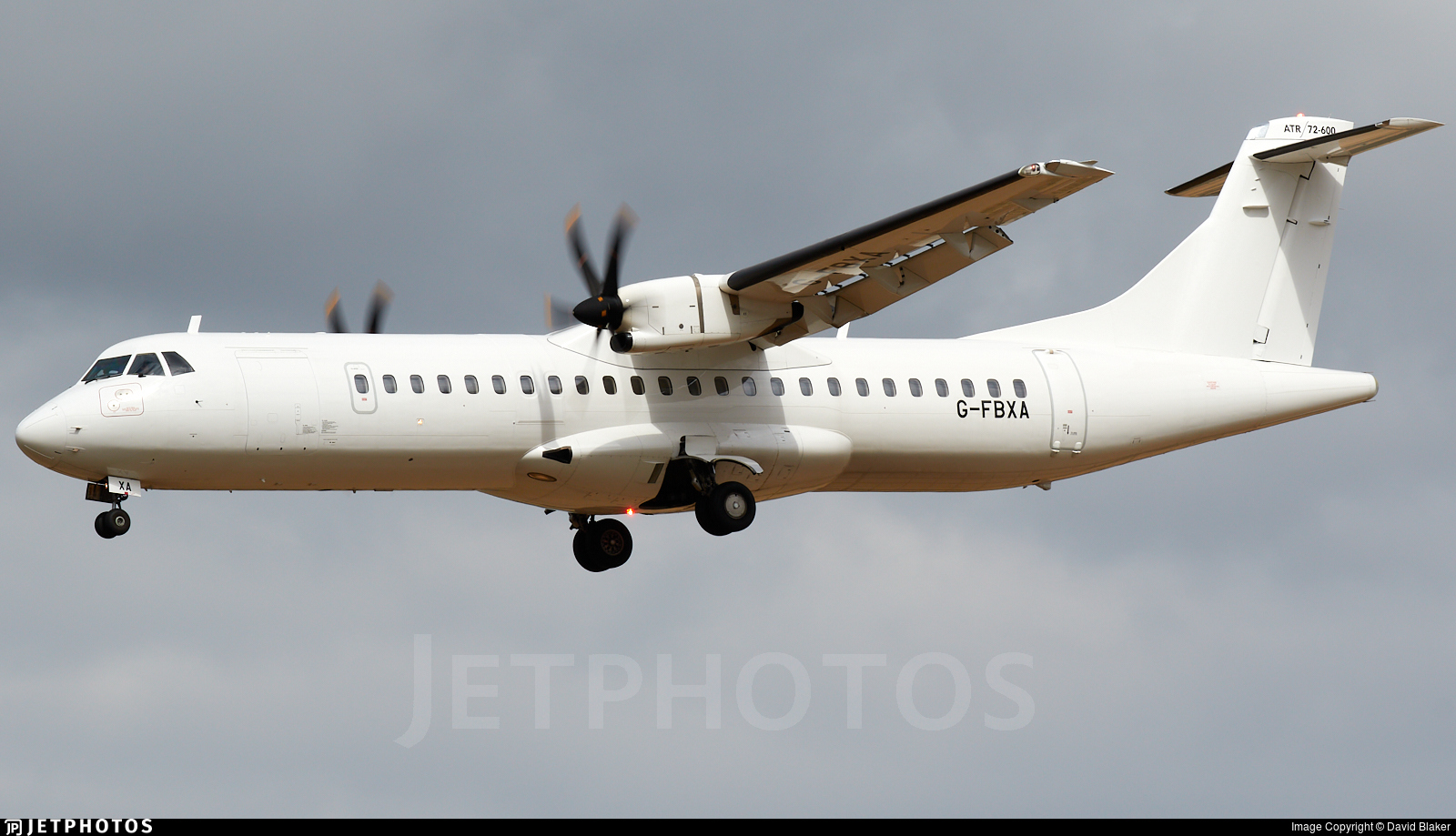 G-FBXA - ATR 72-212A(600) - Loganair