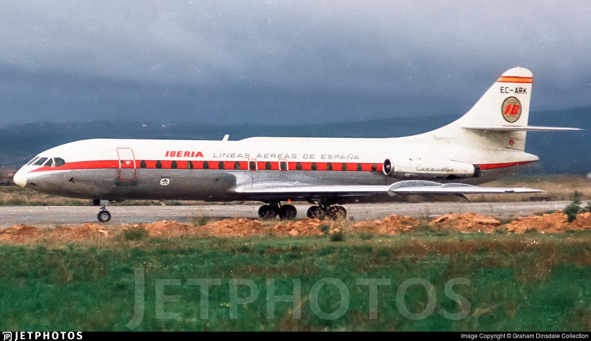 EC-ARK - Sud Aviation SE 210 Caravelle VIR - Iberia