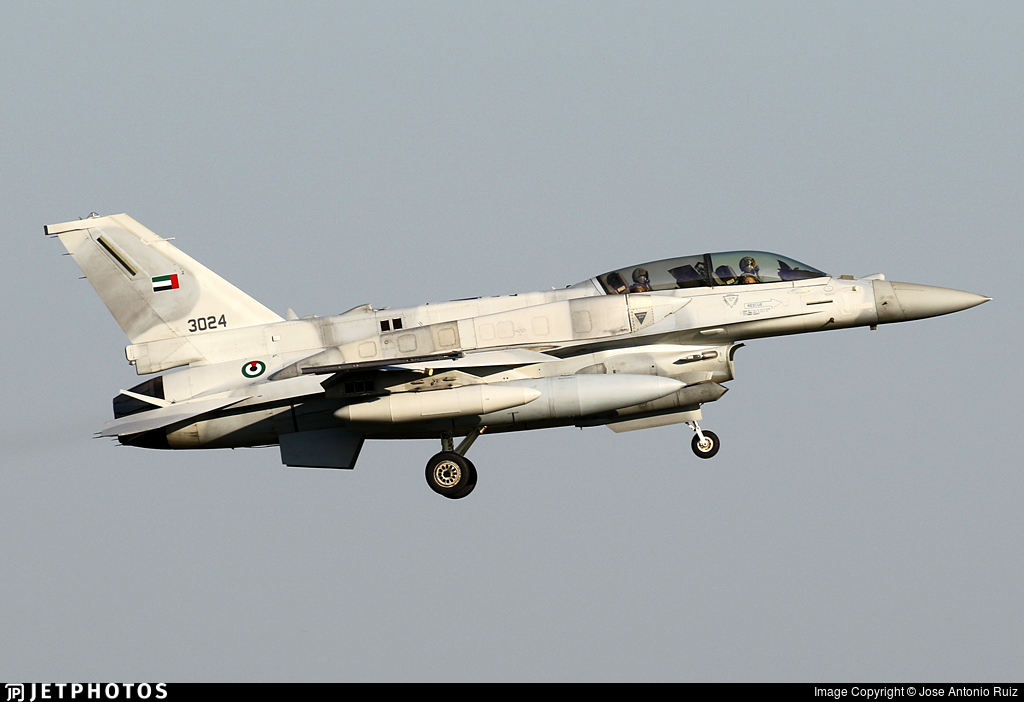 3024 - Lockheed Martin F-16 Fighting Falcon - United Arab Emirates - Air Force