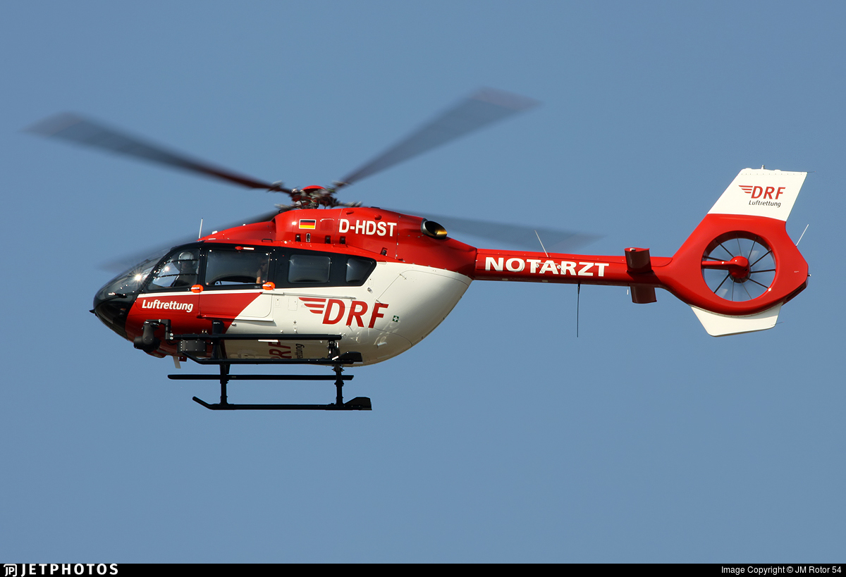D-HDST - Airbus Helicopters H145 - DRF Luftrettung