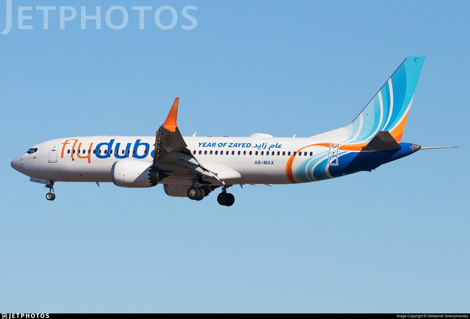 A6-MAX - Boeing 737-8 MAX - flydubai