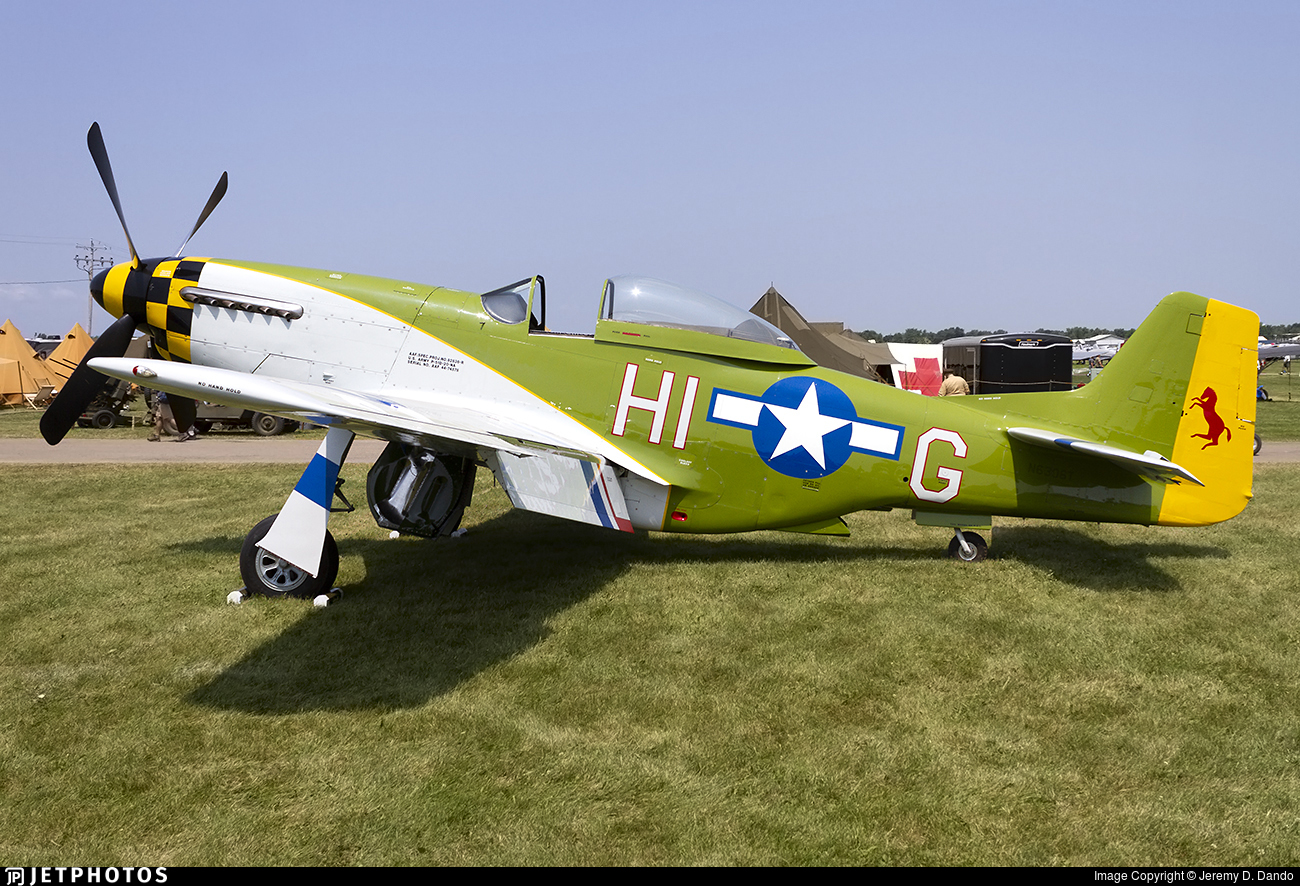 N6306T - North American P-51D Mustang - Private