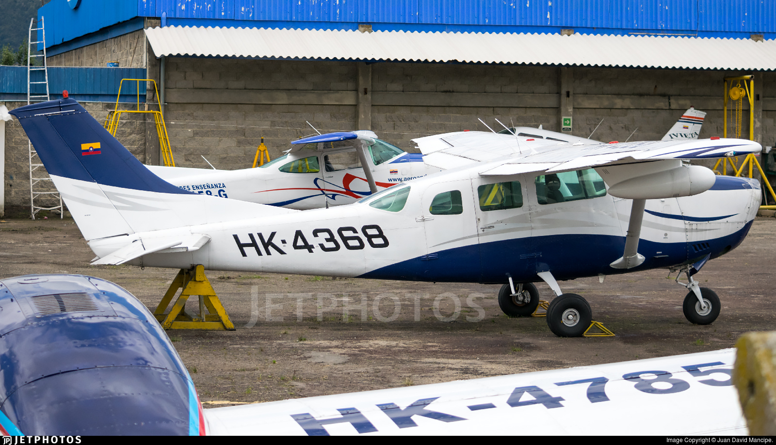 HK-4368 - Cessna TU206F Turbo Stationair - Private