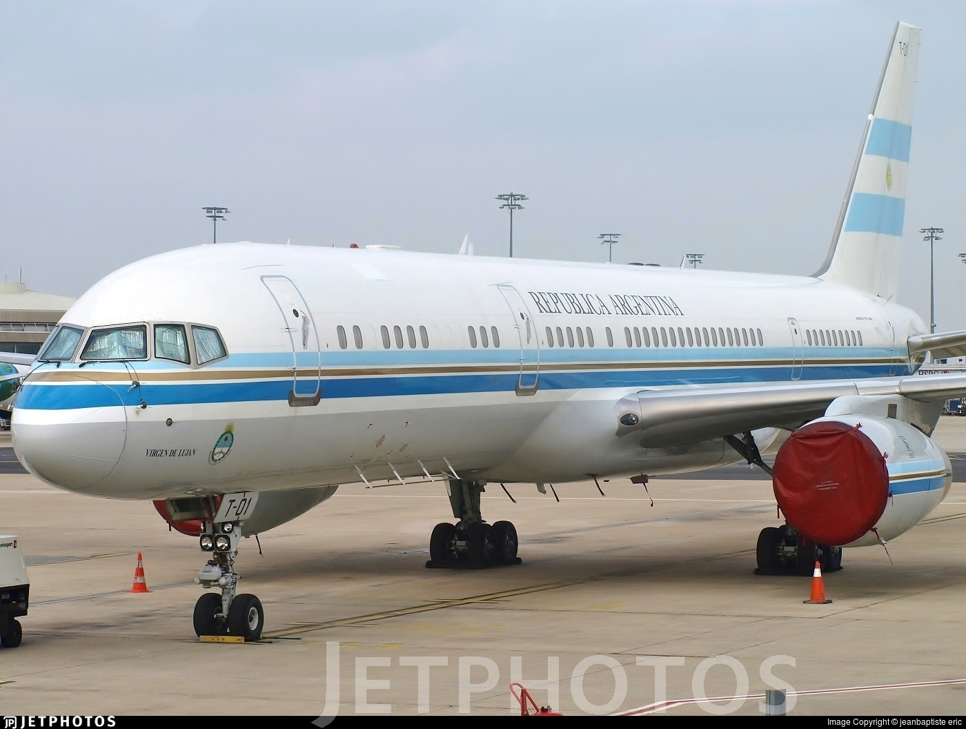 T-01 - Boeing 757-23A - Argentina - Air Force