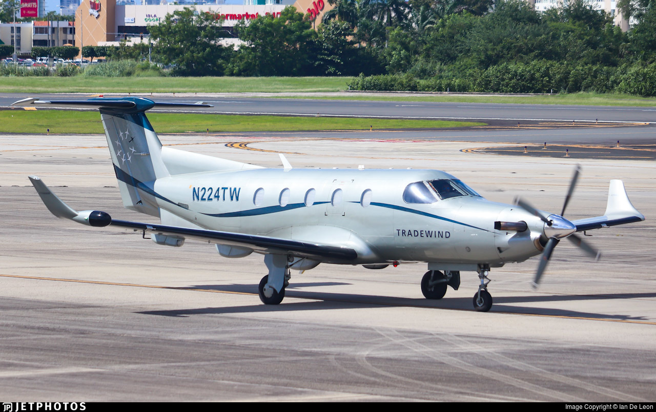 N224TW | Pilatus PC 1245 | Tradewind Aviation | Ian De Leon