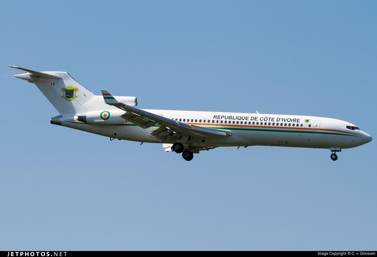 TU-VAO - Boeing 727-2Y4(Adv) - Ivory Coast - Air Force