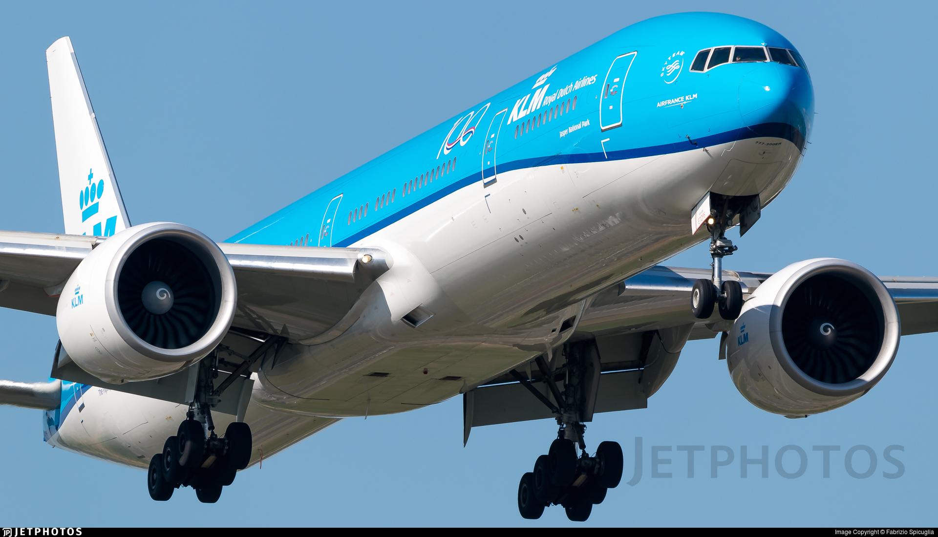 PH-BVP - Boeing 777-306ER - KLM Royal Dutch Airlines
