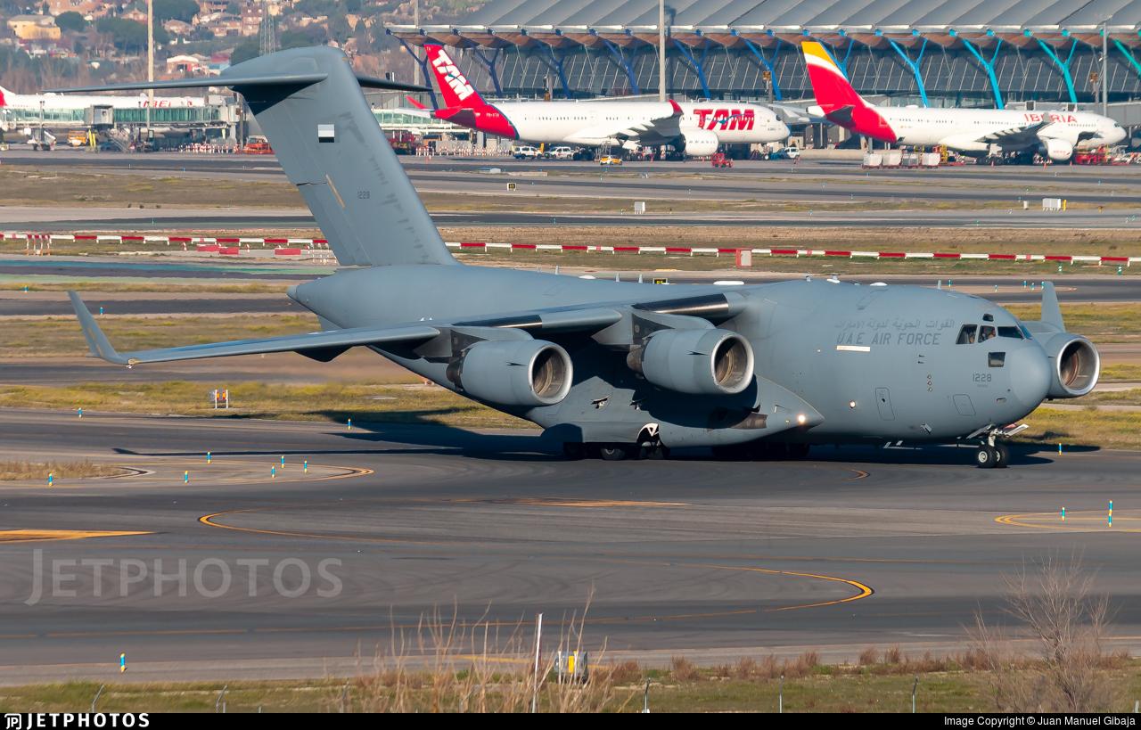 1228 - Boeing C-17A Globemaster III - United Arab Emirates - Air Force