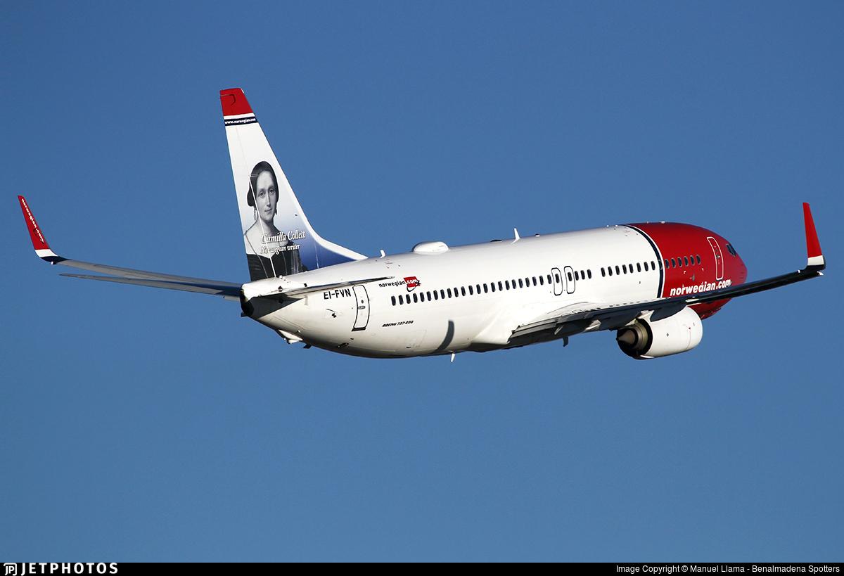 EI-FVN - Boeing 737-8JP - Norwegian