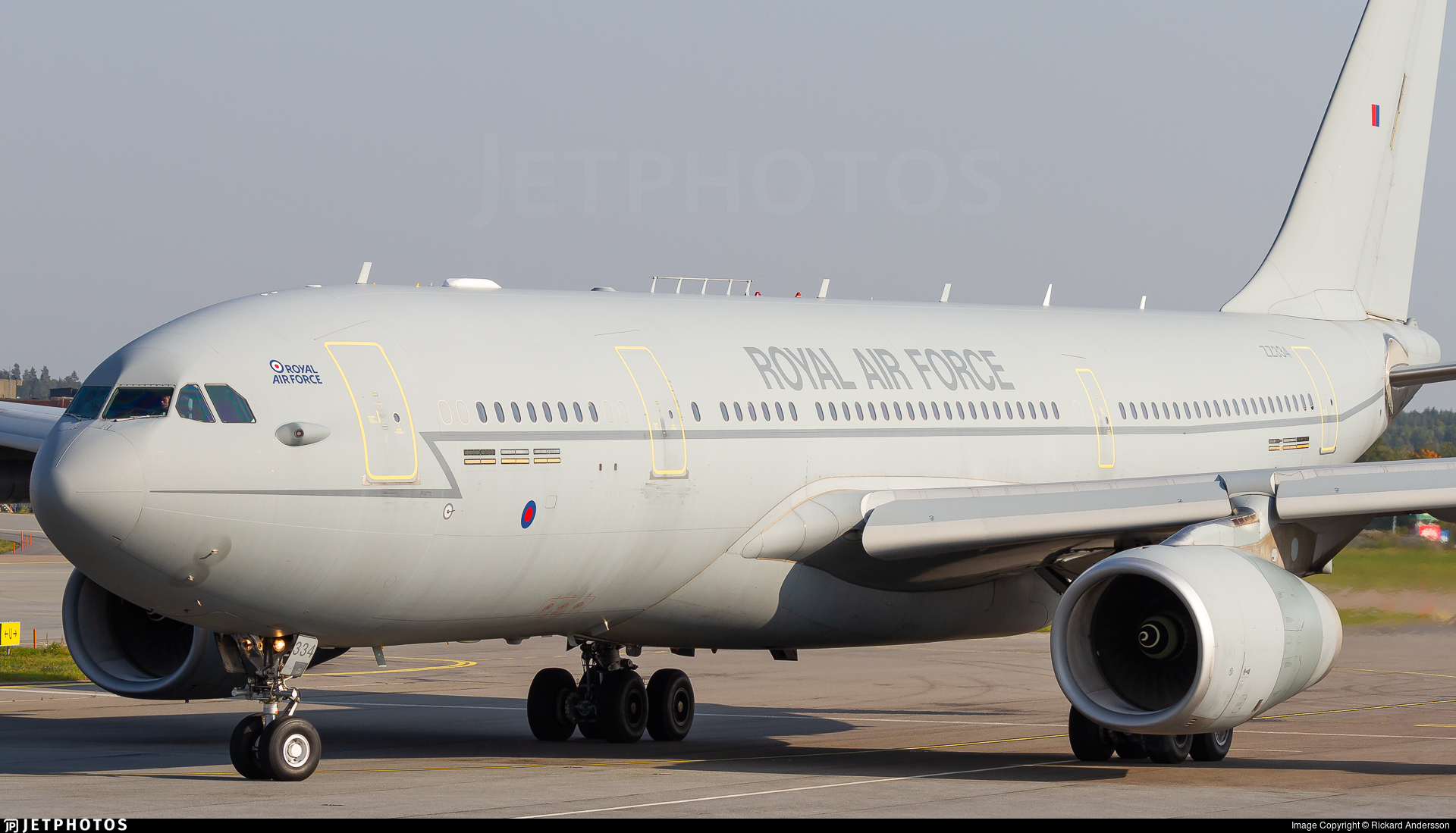 ZZ334 - Airbus A330-243(MRTT) Voyager KC.3 - United Kingdom - Royal Air Force (RAF)