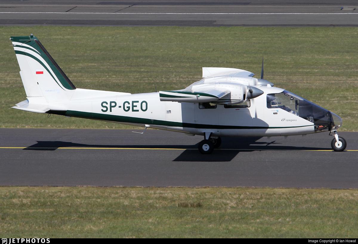 SP-GEO - Vulcanair P.68 Observer 2 - Opegieka