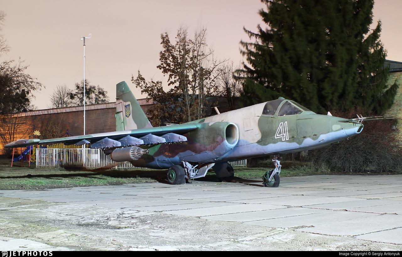 41 - Sukhoi Su-25K Frogfoot - Ukraine - Air Force