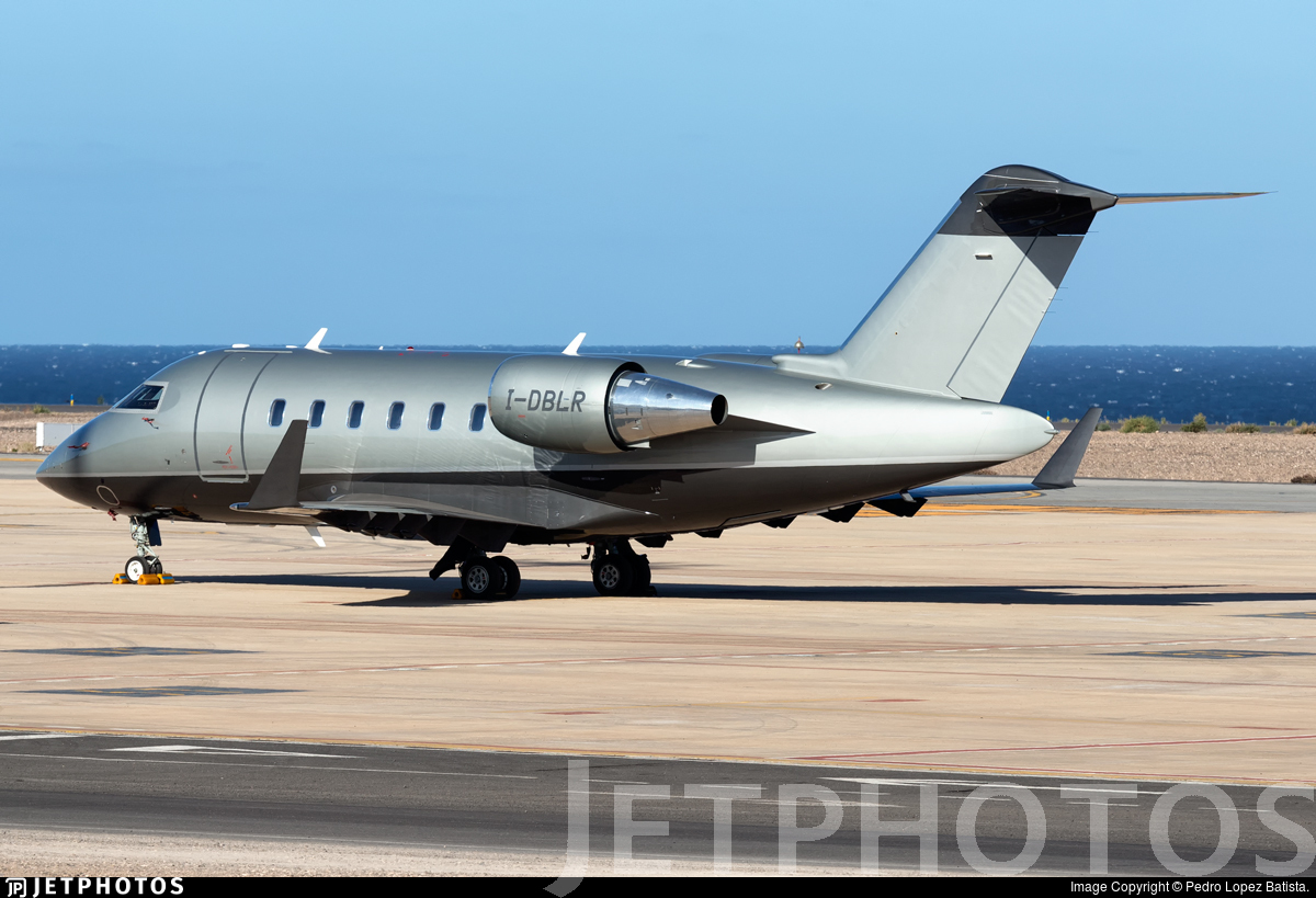 I-DBLR - Bombardier CL-600-2B16 Challenger 650 - Sirio Executive