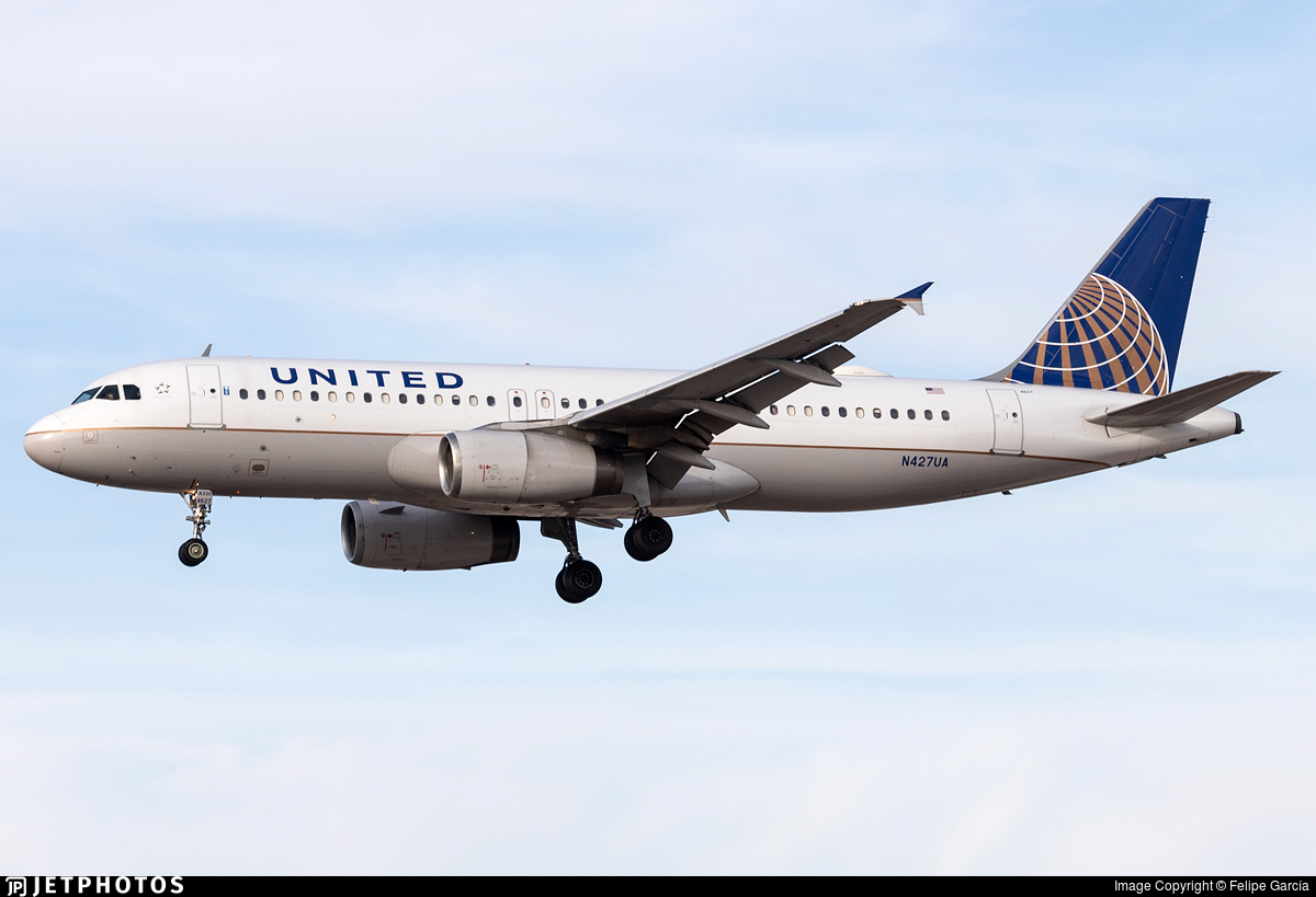 N427UA - Airbus A320-232 - United Airlines