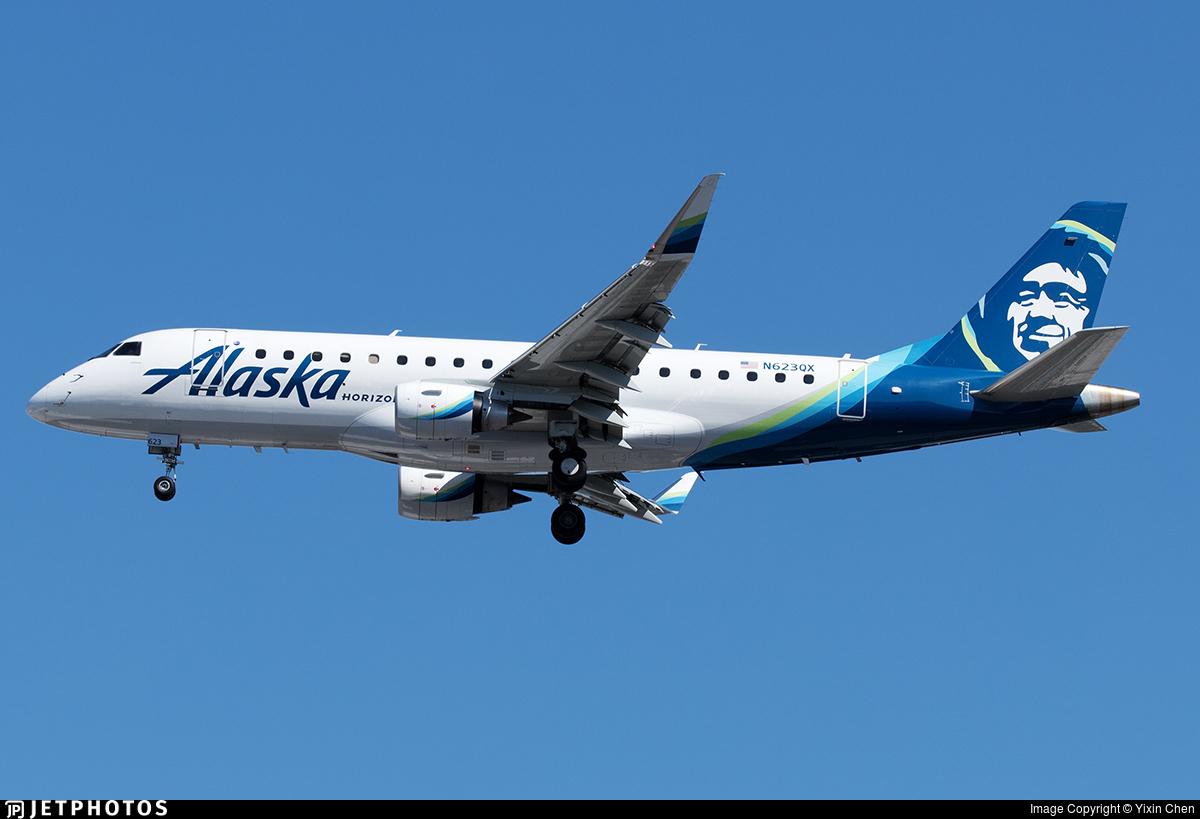 N623QX - Embraer 170-200LR - Alaska Airlines (Horizon Air)