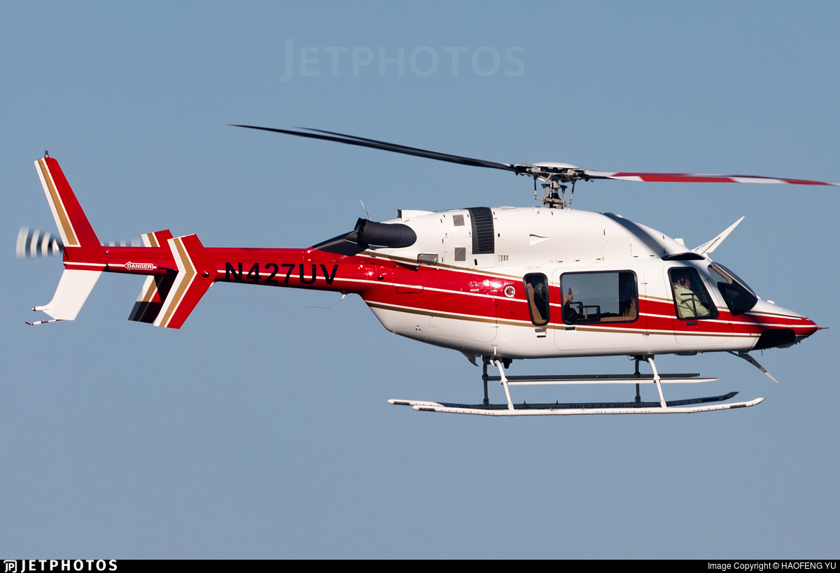 N427UV - Bell 427 - Private