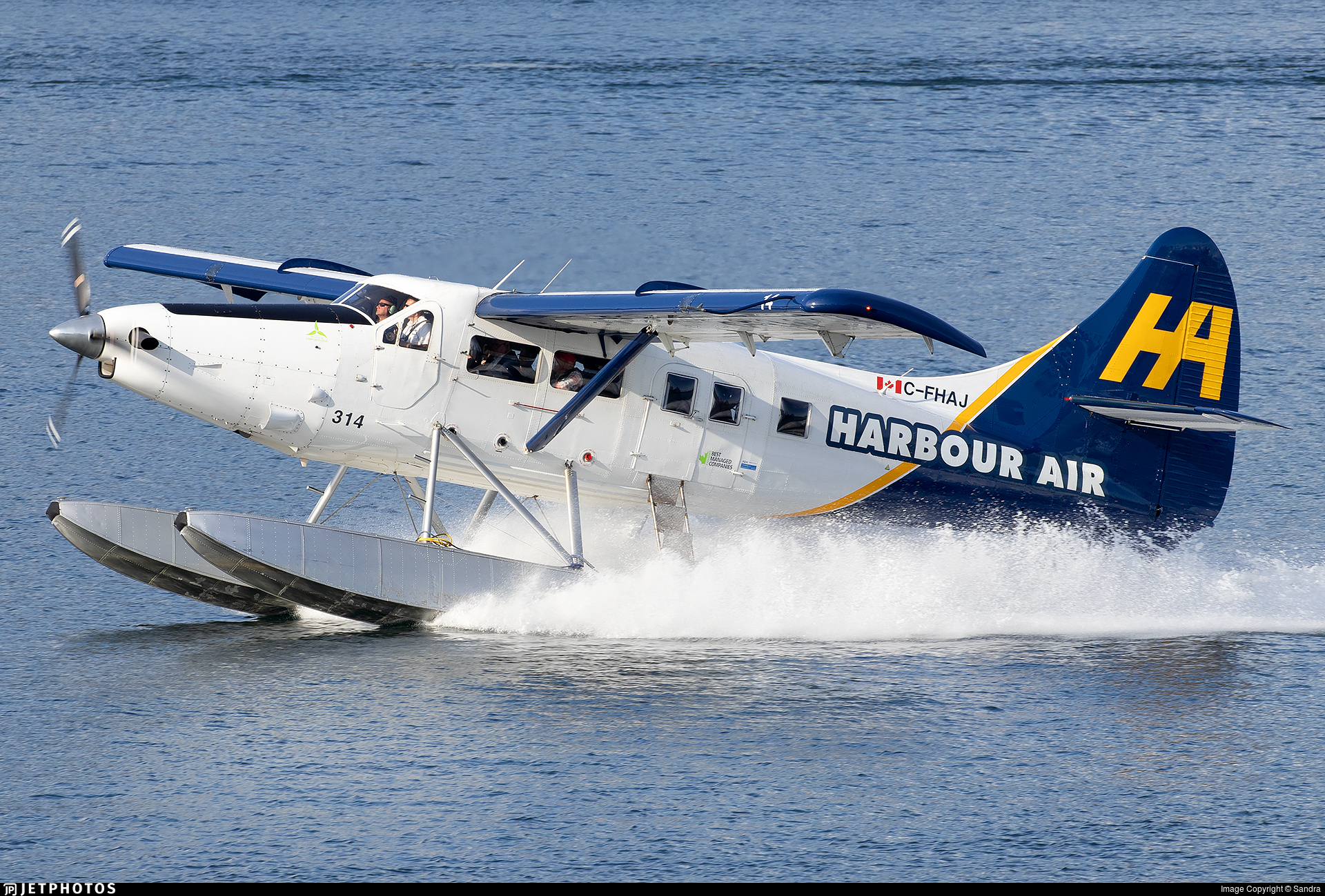 C-FHAJ - De Havilland Canada DHC-3T Vazar Turbine Otter - Harbour Air