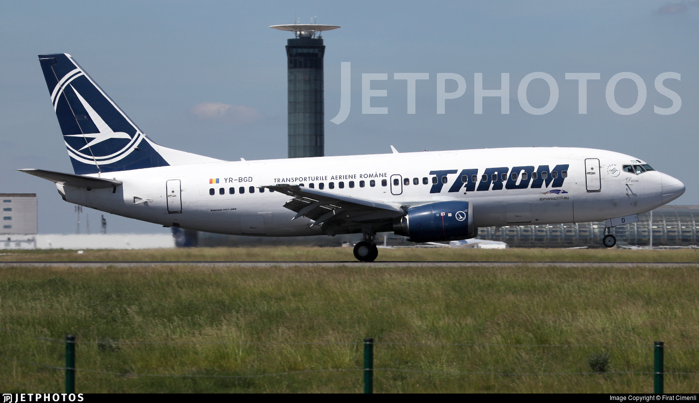 YR-BGD - Boeing 737-38J - Tarom - Romanian Air Transport