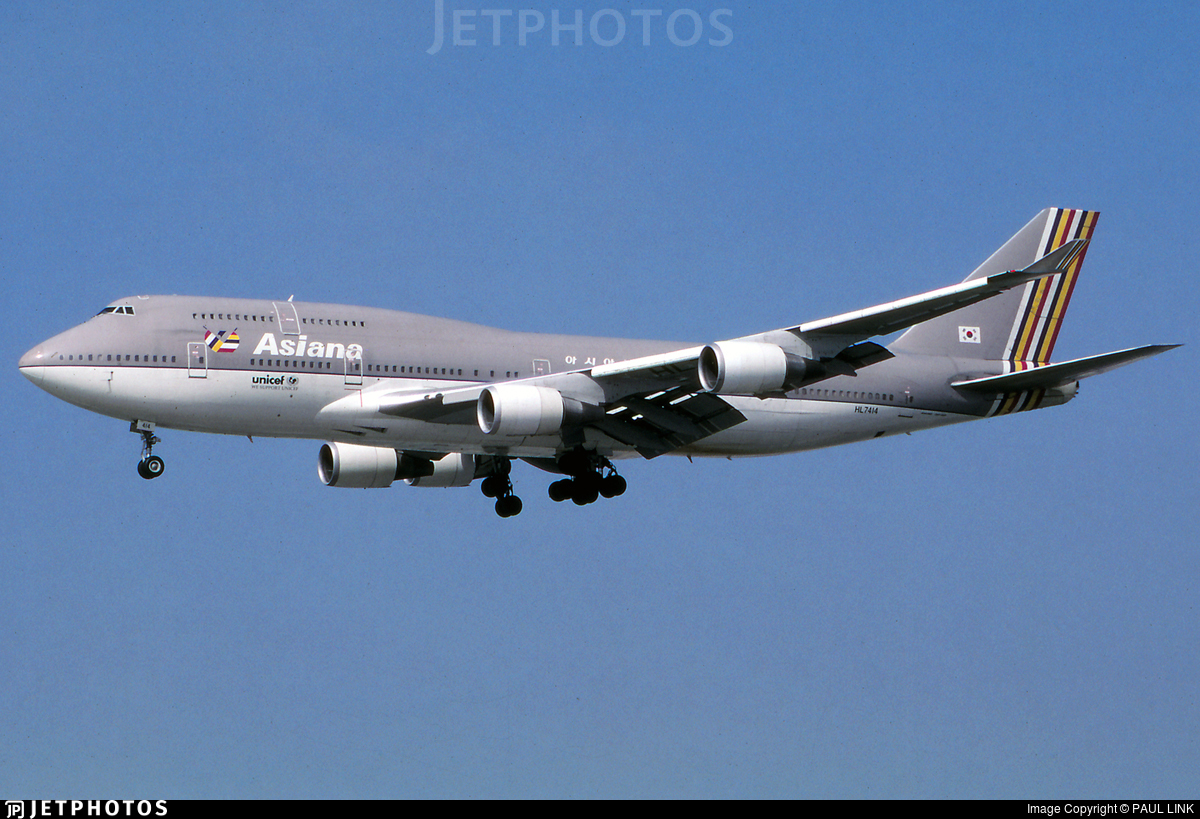 HL7414 - Boeing 747-48E(M) - Asiana Airlines