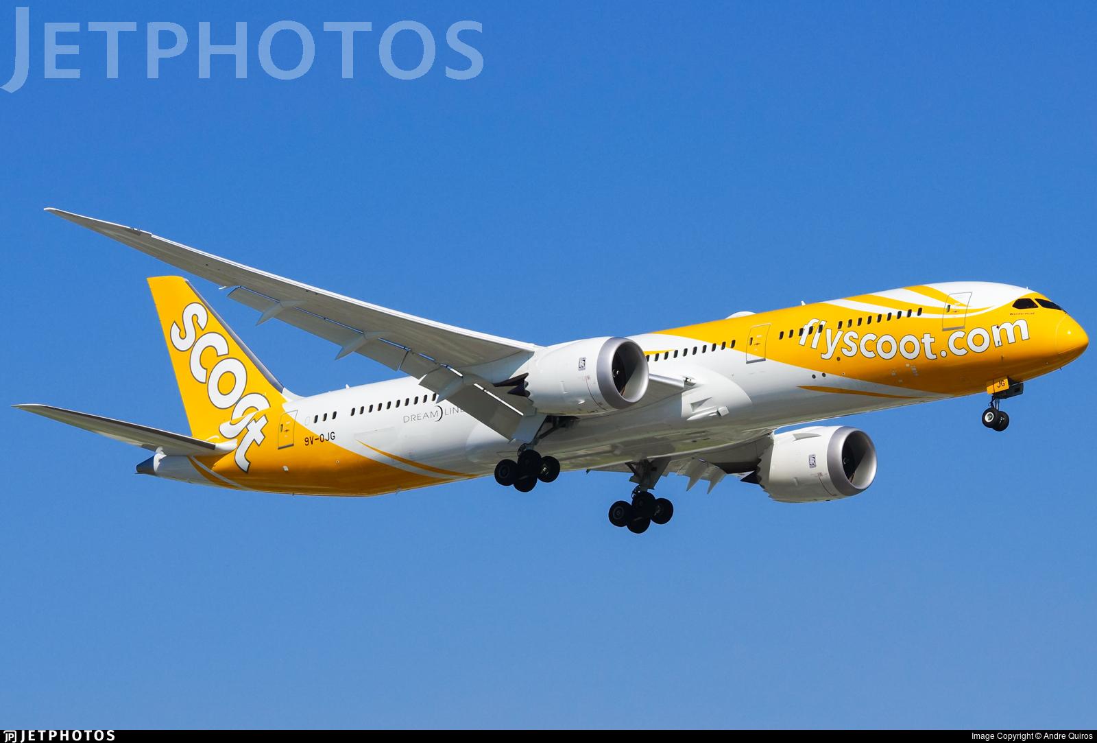 9V-OJG - Boeing 787-9 Dreamliner - Scoot