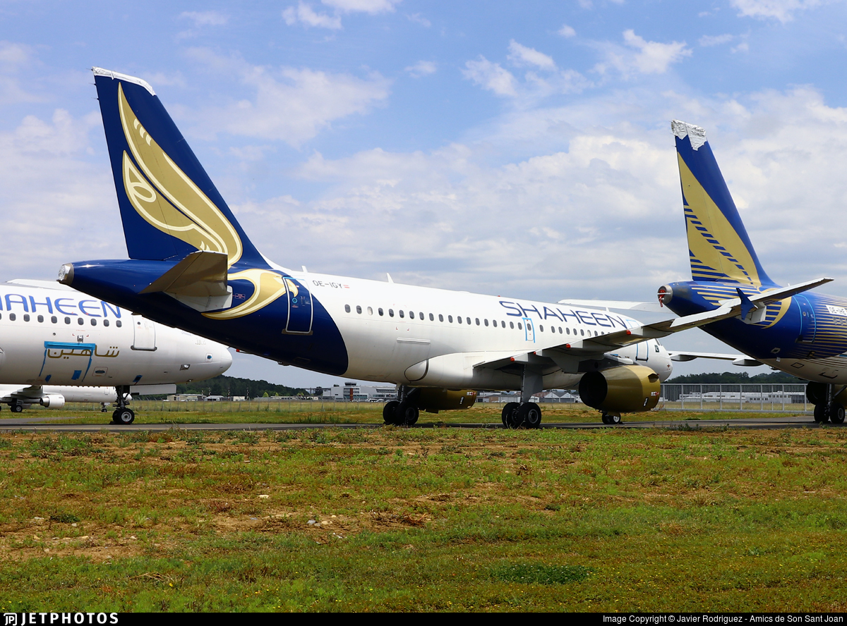 OE-IGY - Airbus A319-132 - Shaheen Air International