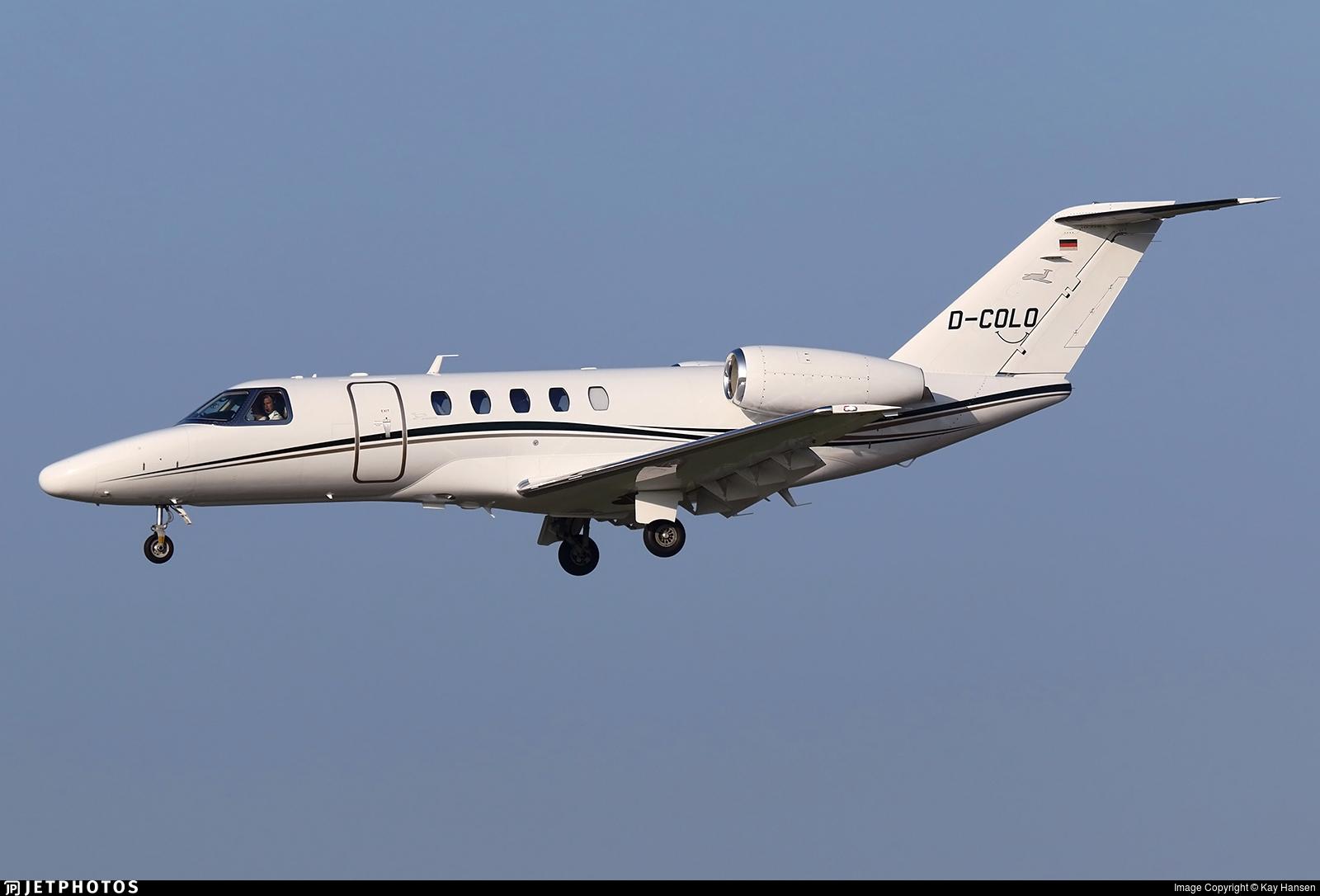 D-COLO - Cessna 525C CitationJet 4 - Private