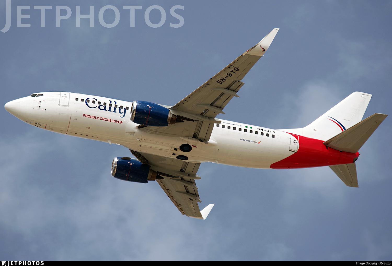 5N-BYQ - Boeing 737-36Q - Cally Air