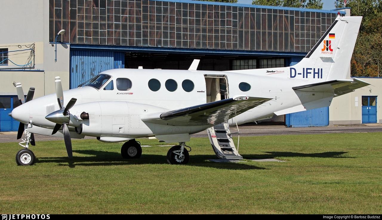 D-IFHI - Beechcraft C90 King Air - Pronar