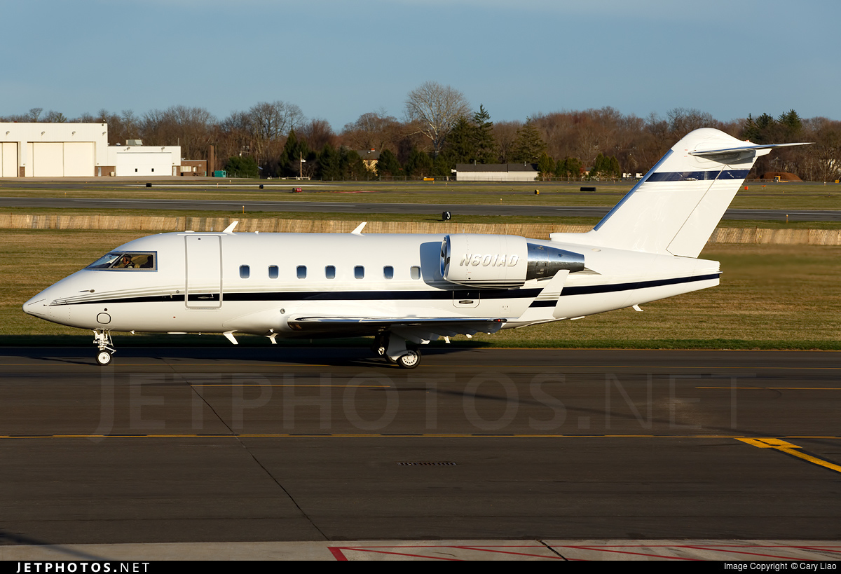 N601AD - Bombardier CL-600-2B16 Challenger 601-3R - Private