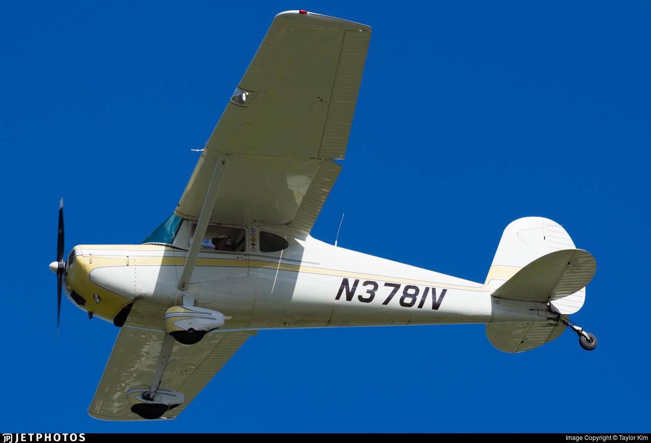 N3781V - Cessna 140A - Private