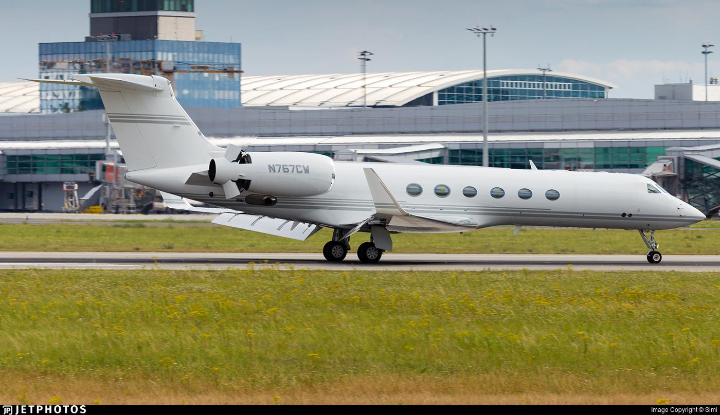 N767CW - Gulfstream G-V - Private