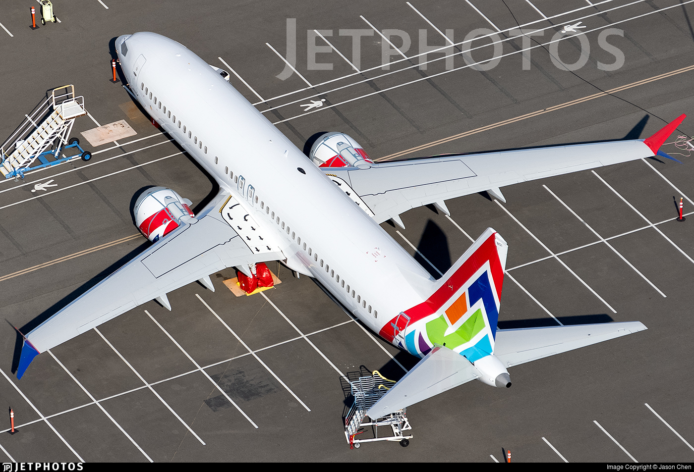 C-GJSL - Boeing 737-8 MAX - Enerjet