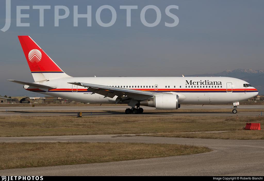 I-AIGH - Boeing 767-23B(ER) - Meridiana