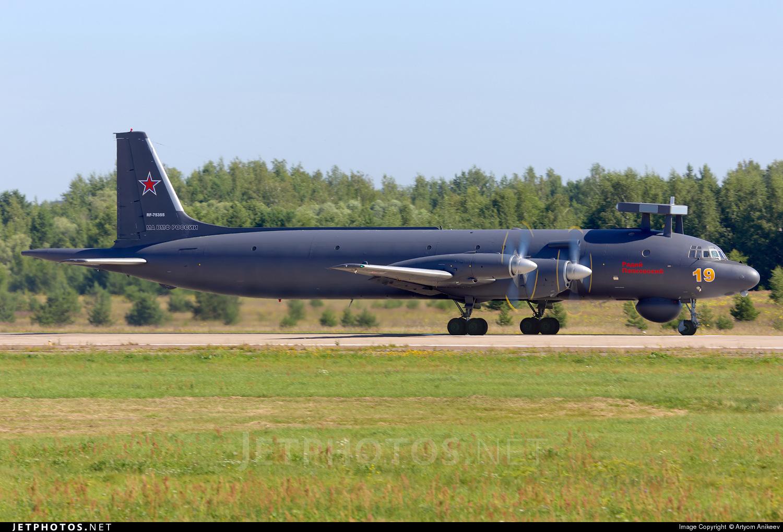 RF-75355 - Ilyushin IL-38N - Russia - Navy